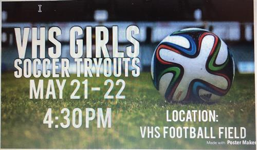 VHS Girls Soccer Tryouts