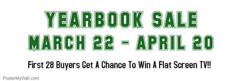 Yearbook Sale - $40